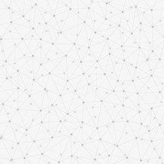messy connected dots background