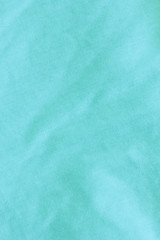 Turquoise Linen Background./Turquoise Linen Background.
