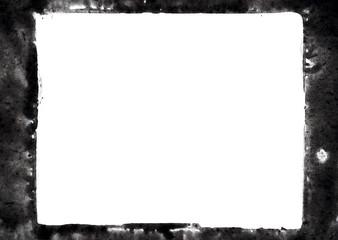 black ink frame
