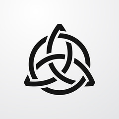 celtic icon illustration