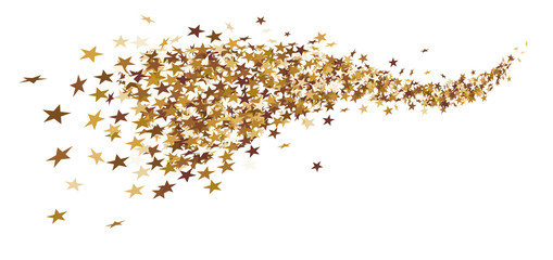 Gold stars png