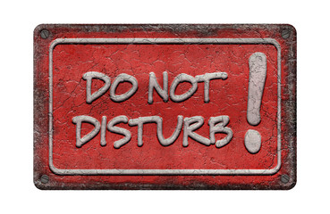 Do not Disturb - Emaille - Vintage 2