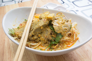 Beef Curry Noodle