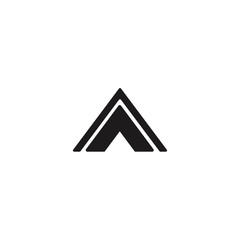 tent icon illustration vector