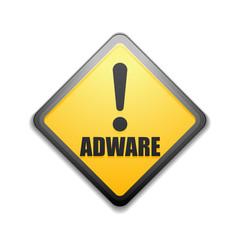Adware sign illustration