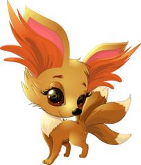 cute fox pokemon