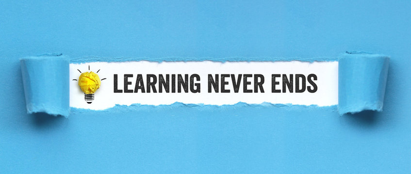 Learnign never ends