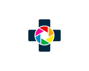 Medical Photo Logo Design Element