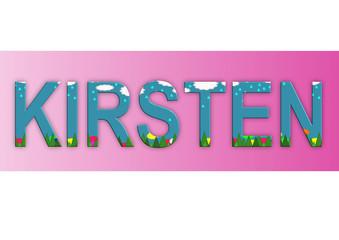 Vorname Kirsten, Grafik