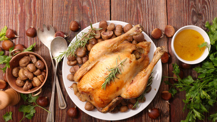 christmas baked chicken