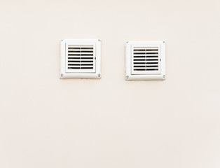 Double air ventilation.