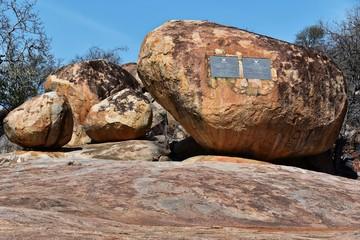 Kruger Denkmal im Kruger Nat. Park - Südafrika