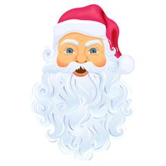 Santa Clause face