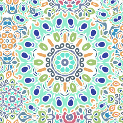 Mandala pattern for printing on fabric or paper.