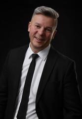 portrait of smiling mature business man