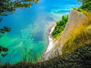 Wall Mural - Top of the white cliffs Mons Klint in Denmark