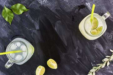 Lemonade on blackboard
