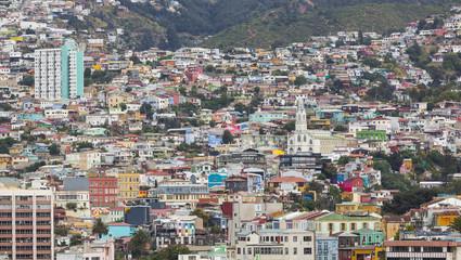Valparaiso Chile, cityscape