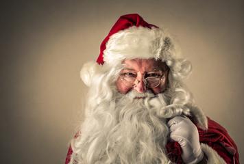 Santa Claus' portrait