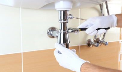 Professional plumbing repair
