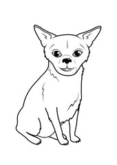 Coloring page - Dog