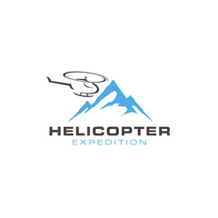 Helicopter logo design