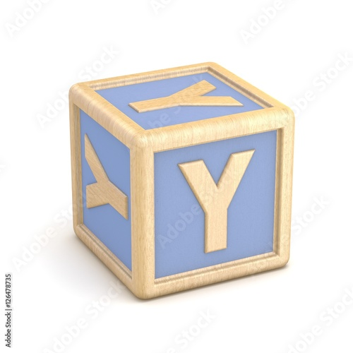 Letter y wooden alphabet blocks font rotated 3d stock for 3d wooden alphabet letters