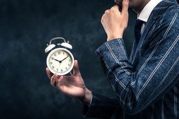 ビジネスマンと時間管理