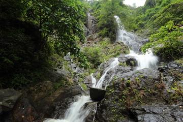 Top of mountain in Krok E-Dok waterfall in Saraburi, Thailand