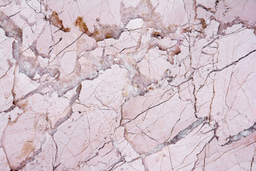 Wall Mural - Pink light marble stone texture background.Beautiful soft pink m