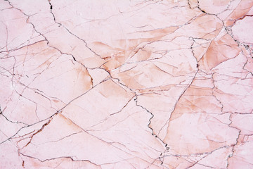 Wall Mural - Pink light marble stone texture background.Beautiful pink marble
