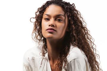 beautiful brazilian girl portrait