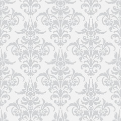 Ornamental seamless pattern set. Abstract texture. Illustration with  art flower on white background.