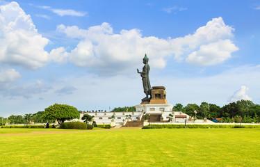 Buddhist park in phutthamonthon, Thailand