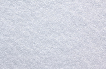 background of snow texture / fresh snow background