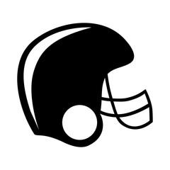 football helmet icon image vector illustration design