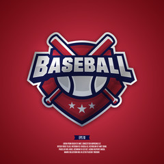 Baseball team logo.