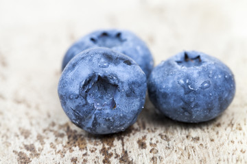 ripe berries blueberry