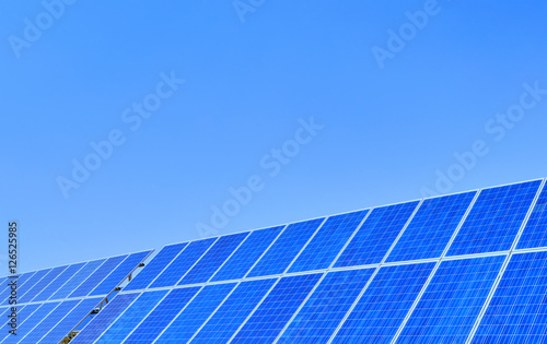 "Solar panels with blue sky"" Stock photo and royalty-free images on ..."