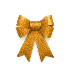 Goldene Bandschleife