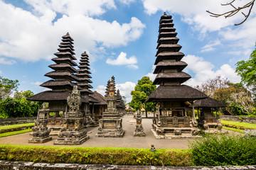 unesco heritage taman ayun temple at bali, indonesia