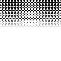 Background with gradient of black and white hexes