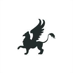 Griffin logo, Vector illustration