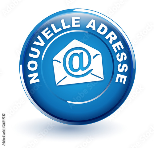 nouvelle adresse email