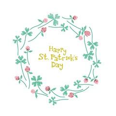 St. Patrick's day celebration card