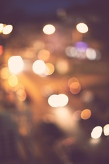 Bokeh abstract background. Holiday night