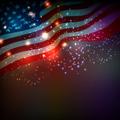 Abstract background for 4th of July