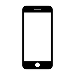 Mobile phone. Vector illustration.