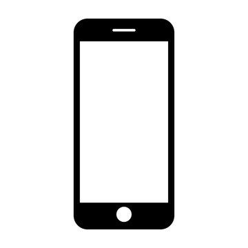 Mobile phone. Vector illustration.
