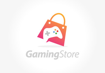 Game Store vector illustration